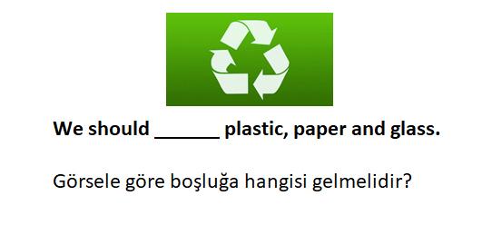 4 5 6. Sınıf İngilizce 9. Ünite Saving The Planet Test Çöz