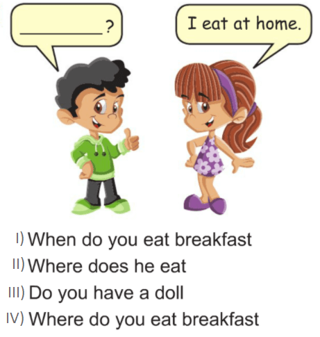 7 12 4. Sınıf İngilizce 5. Ünite My Day Test Çöz
