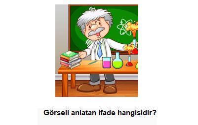 8 11 4. Sınıf İngilizce 6. Ünite Fun With Science Test Çöz