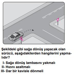 trafik 14 3 2021 Haziran Ayı Ehliyet Sınav Soruları Çöz