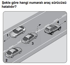 trafik 14 2021 Mart Ayı Ehliyet Sınav Soruları Çöz