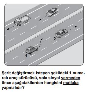 trafik 15 2021 Mart Ayı Ehliyet Sınav Soruları Çöz