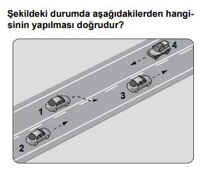 trafik 16 2 2021 Haziran Ayı Ehliyet Sınav Soruları Çöz