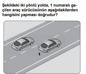 trafik 17 3 2021 Haziran Ayı Ehliyet Sınav Soruları Çöz