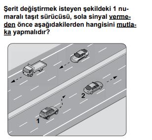 trafik 18 3 2021 Haziran Ayı Ehliyet Sınav Soruları Çöz