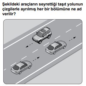 trafik 2 2021 Mart Ayı Ehliyet Sınav Soruları Çöz