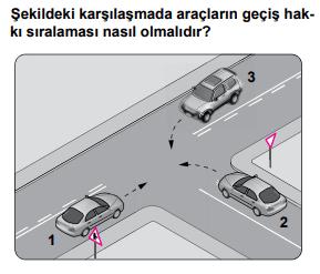 trafik 20 2021 Mart Ayı Ehliyet Sınav Soruları Çöz