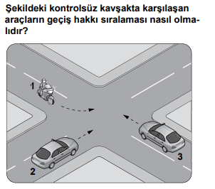 trafik 22 1 2021 Nisan Ayı Ehliyet Sınav Soruları Çöz