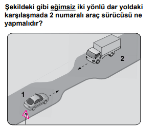 trafik 22 2021 Mart Ayı Ehliyet Sınav Soruları Çöz