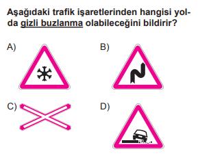 trafik 23 3 2021 Haziran Ayı Ehliyet Sınav Soruları Çöz