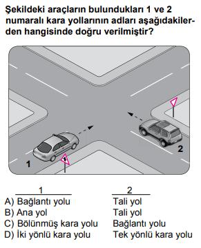 trafik 3 3 2021 Haziran Ayı Ehliyet Sınav Soruları Çöz