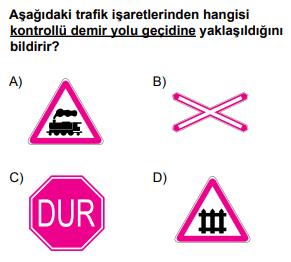 trafik 6 2021 Mart Ayı Ehliyet Sınav Soruları Çöz