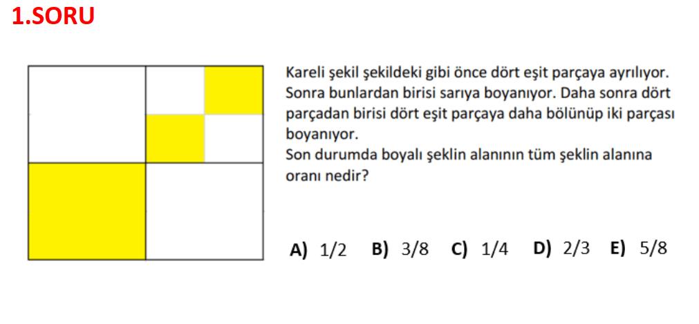 dgs soru1 2022 DGS Matematik Kesin Çıkacak 10 Soru Tipi - Tahminler