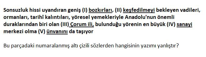 3 10 2021 TYT Türkçe Yazım Kuralları Test Çöz-1