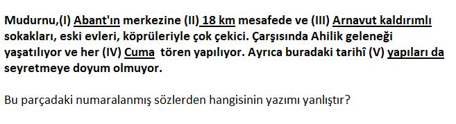 4 10 2021 TYT Türkçe Yazım Kuralları Test Çöz-1