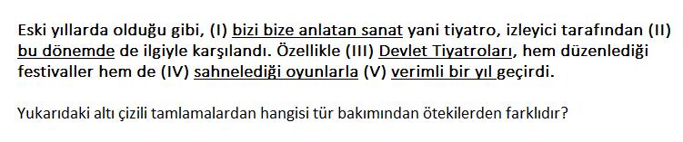 1 7 2021 KPSS Türkçe Tamlamalar Testi Çöz-1