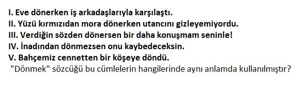 2 2 2021 KPSS Türkçe Sözcükte Anlam Testi Çöz-1