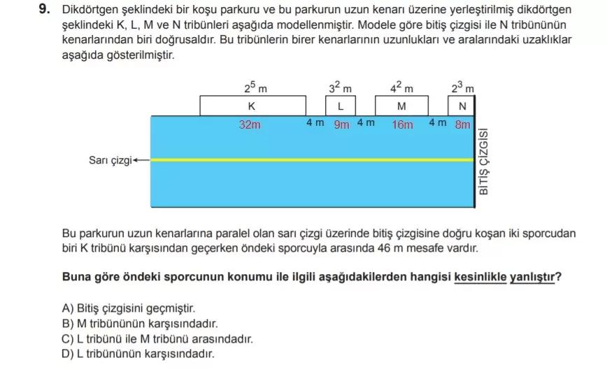 2021 lgs matematik sorulari 9 2021 LGS Çıkmış Matematik Soruları Çöz - PDF