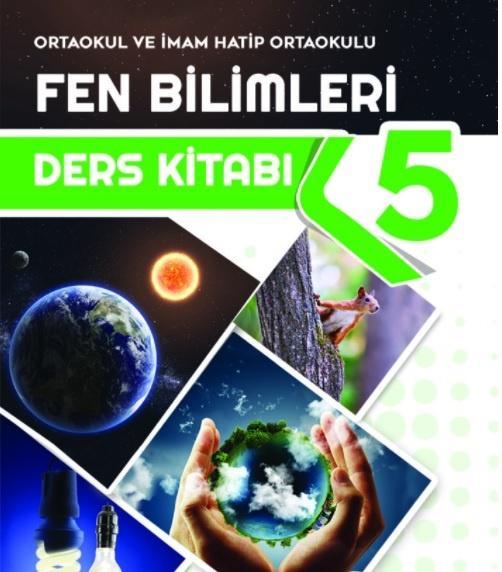 5. Sınıf Fen Bilimleri Ders Kitabı PDF indir MEB