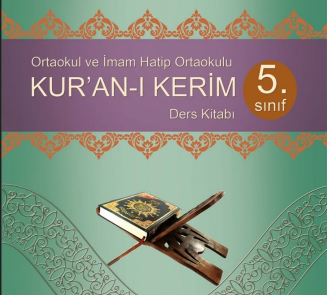 5. Sınıf Kur'an-ı Kerim Ders Kitabı PDF