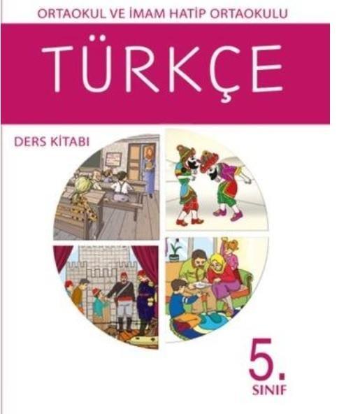 5. Sınıf Türkçe Ders Kitabı PDF indir MEB