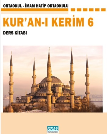 6. Sınıf Kuran-I Kerim Ders Kitabı PDF Indir MEB (2021-2022)