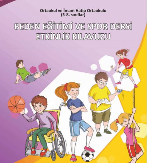 7. Sınıf Beden Eğitimi Ders Kitabı PDF Indir MEB (2021-2022)