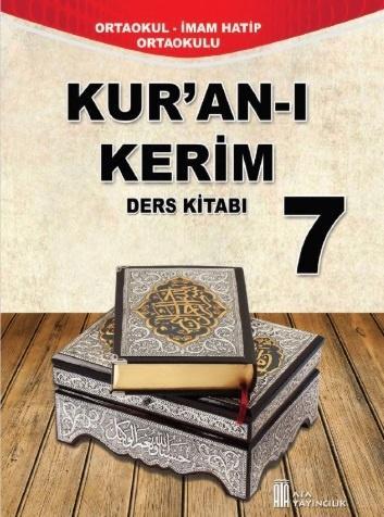 7. Sınıf Kur'an-I Kerim Ders Kitabı PDF Indir MEB (2021-2022)