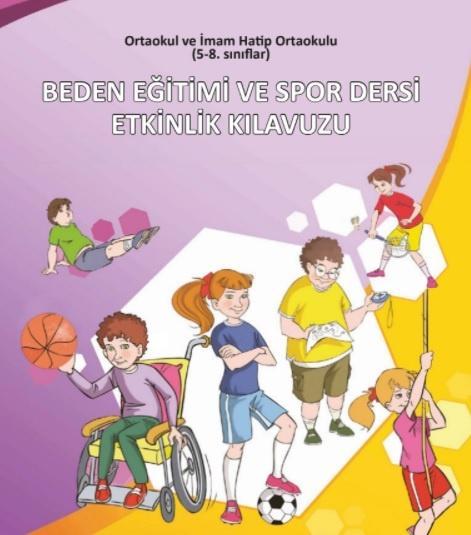 8. Sınıf Beden Eğitimi Ders Kitabı PDF İndir MEB (2021-2022)