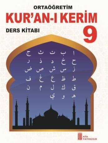 9. Sınıf Kur'an-I Kerim Ders Kitabı PDF İndir MEB (2021-2022)