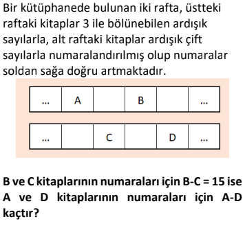 2 2 Ardışık Sayılar Test Çöz Online -1 (TYT KPSS DGS ALES)