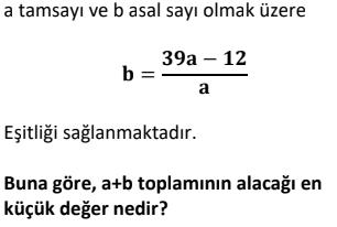 7 2 Asal Sayılar Test Çöz Online -1 (TYT KPSS DGS ALES)