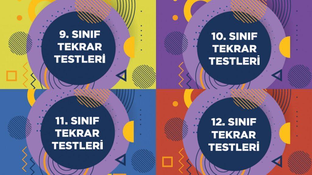 9, 10, 11, 12. Sınıf MEB Tekrar Testleri Kitabı PDF 2022